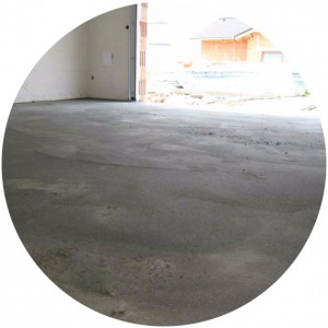фото пола из бетона в гараже