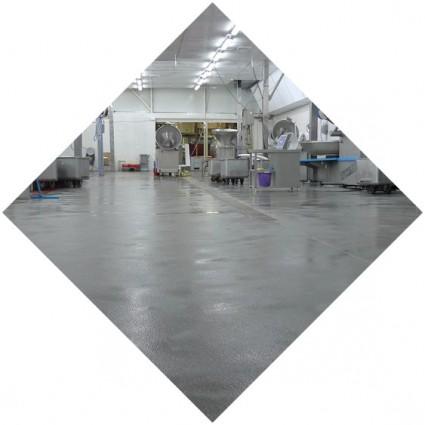 фото покрытия промышленного пола