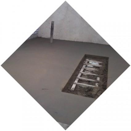 фото заливки покрытия в гараже