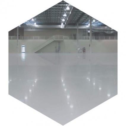 фото промышленного бетонного пола