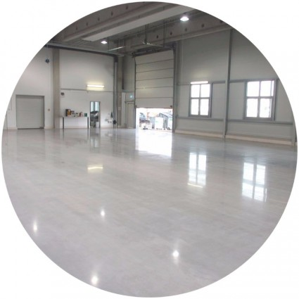фото промышленного бетонного покрытия