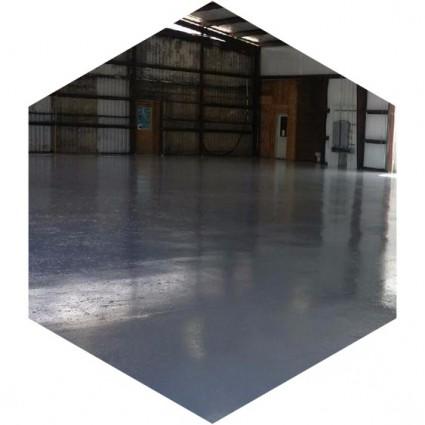 фото ремонта покрытия на складе