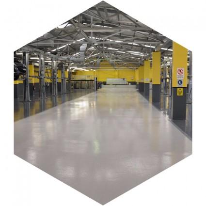 недорогие полы производственных зданий