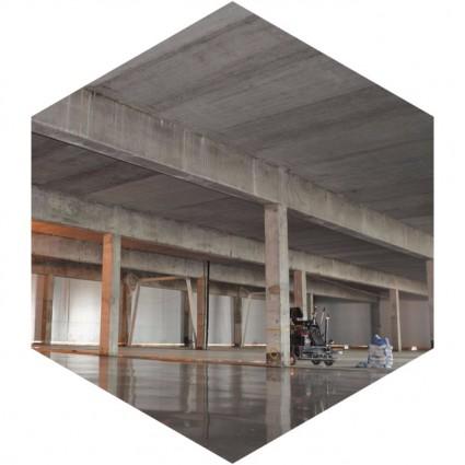фото бетонного пола с упрочненным верхним слоем