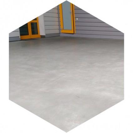 фото декоративного бетонного пола