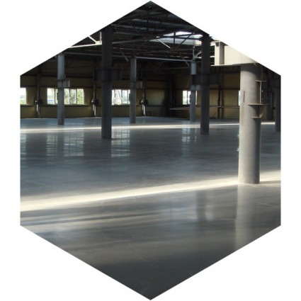 укладка промышленного бетонного пола