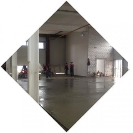бетонный промышленный пол