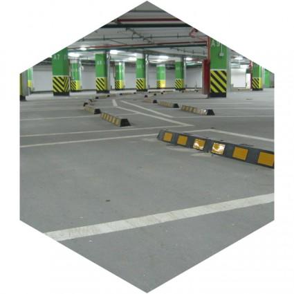 фото промышленных полов для парковок
