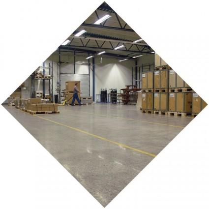 бетонный пол в промышленности