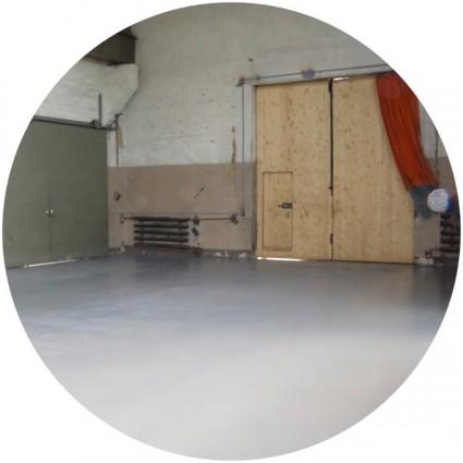укладка бетонного пола промышленных зданий