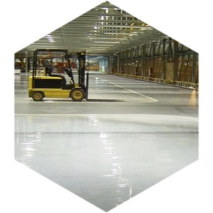 фото бетонного пола в производственном здании