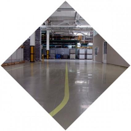 фото промышленного покрытия из бетона