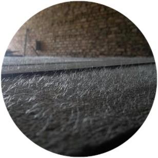 фото бетонного пола с фибробетоном