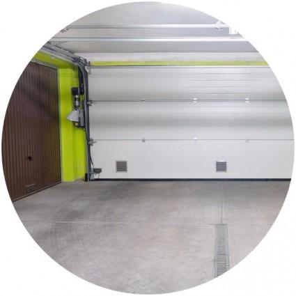 Асфальтовый пол в гараже