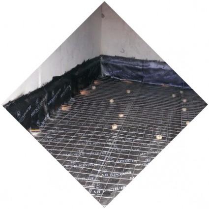 фото покрытия армированного в гараж