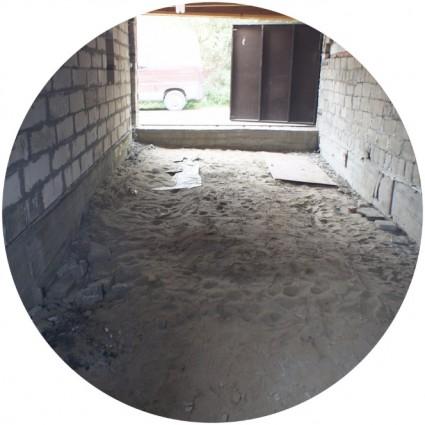 фото пола для гаража