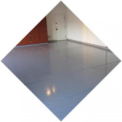 фото покрытия выравненного для гаража