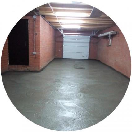 фото цементного пола в гараже