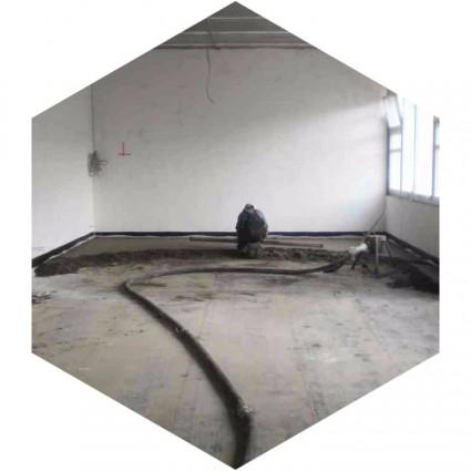 фото заливки покрытия цементной смесью