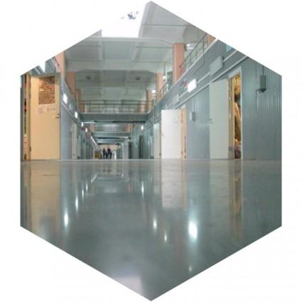 фото бетонного наливного пола