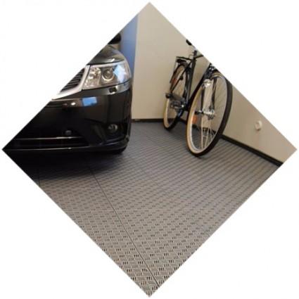 наливной резиновый пол для гаража