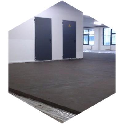 бетонная стяжка для пола