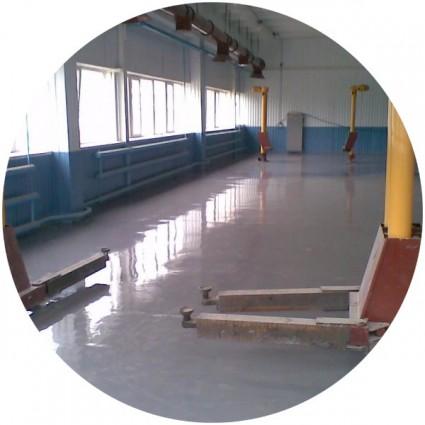 полы из бетона для автосервиса
