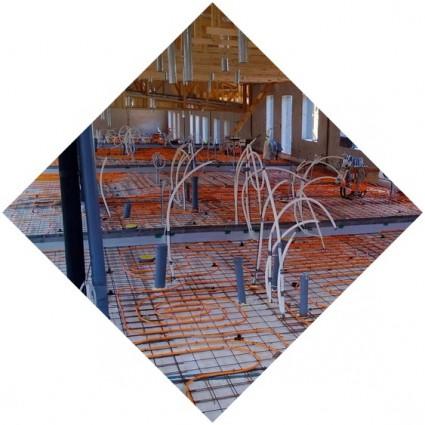монолитное покрытие из бетона