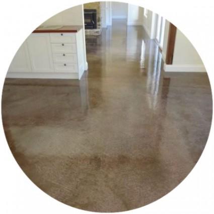 фото бетонного глянцевого покрытия
