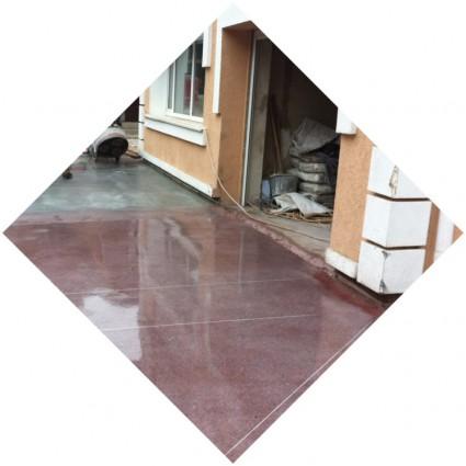 бетонные глянцевые полы