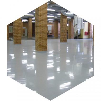 фото бетонного антискользящего покрытия