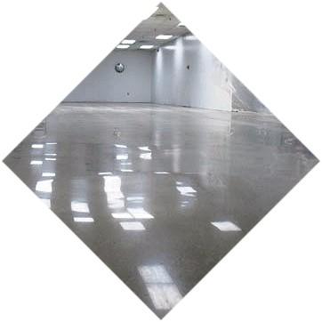 Полимерцементный пол из бетона