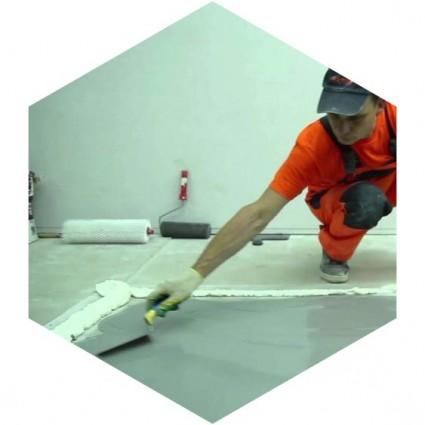 монтаж полимерного покрытия