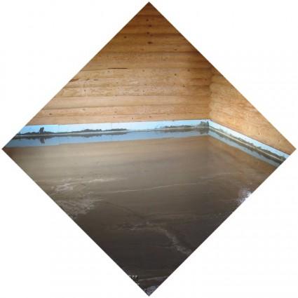 бетонный пол под основу