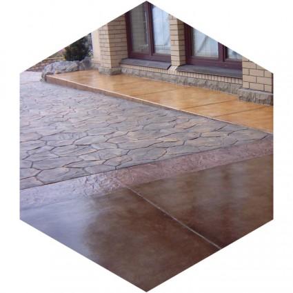 декоративное покрытие из бетона
