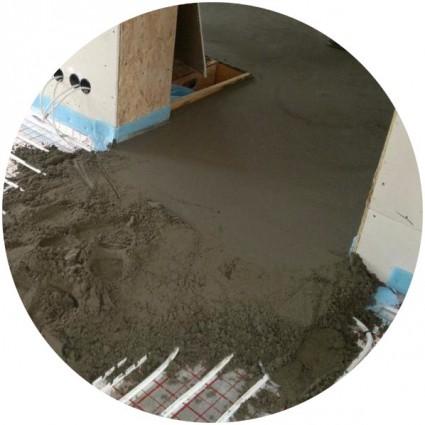 фото бетонной стяжки пола