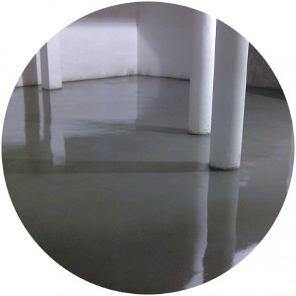 фото бетонных наливных полов