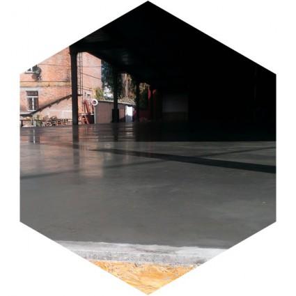 полы с упрочненным верхним слоем