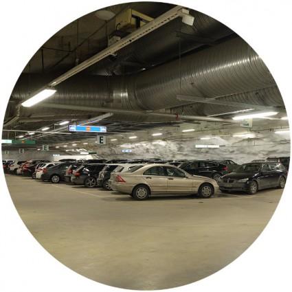полы в паркинге