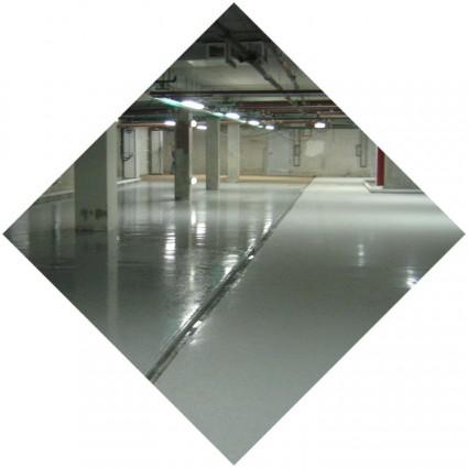 Покрытие бетона полимером