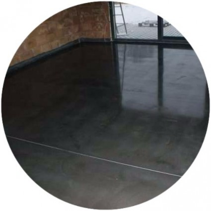 Полированное бетонное покрытие