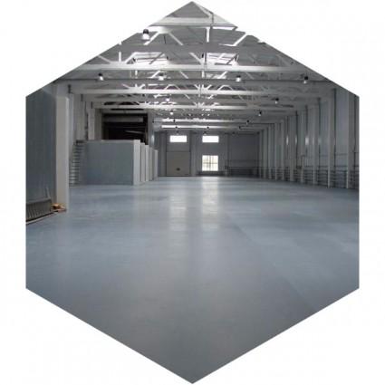 Промышленный покрытия, стоимость квадратного метра